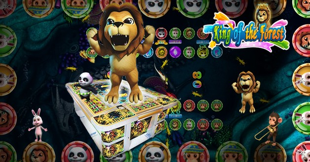 Arcade Betting Games-King of the Forest