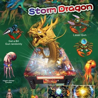 Arcade Skilled Fish Game-Storm Dragon