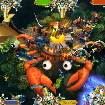 Fishing game machine gaming machine supplier for Crab fishing game