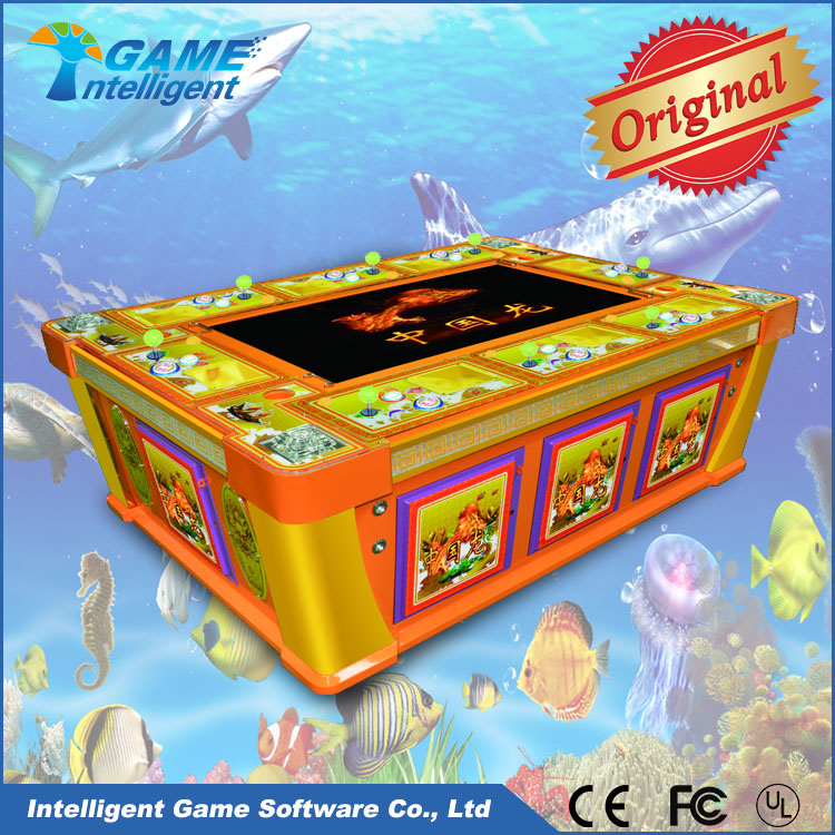 Fish hunter game machine fish table game machine catch for Fish and game table