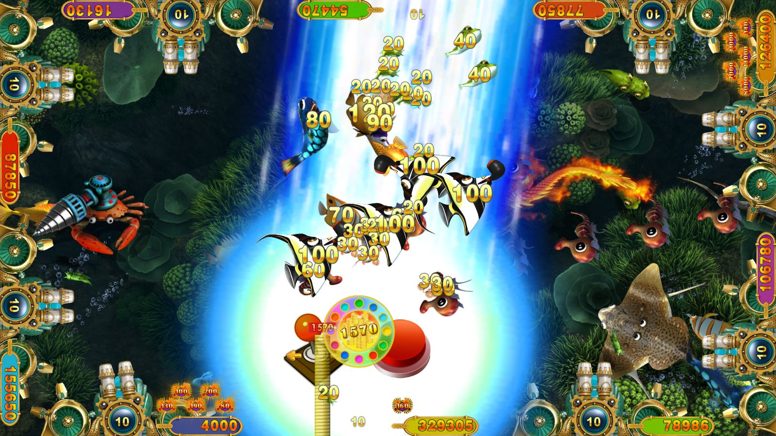 Gambling Table Fish Game-Phoenix Legend