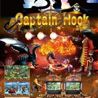 Fighting Arcade Game-Captain Hook