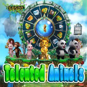 Intelligent Game Skill Arcade Game Talented Animals