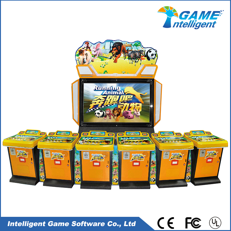 Intelligent Game video lottery terminal manufactures Running Animal