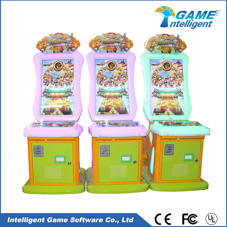 Intelligent Game Lottery Arcade Game Machine The Monkey King