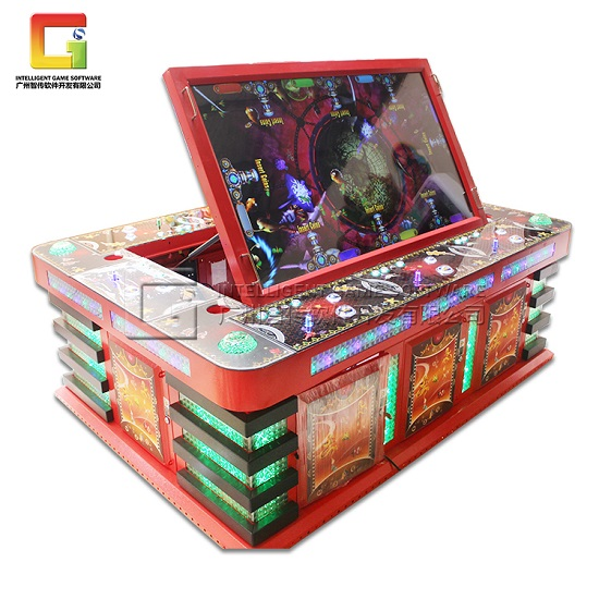 fish table sweepstakes arcade game machines guangzhou intelligent game software 2000