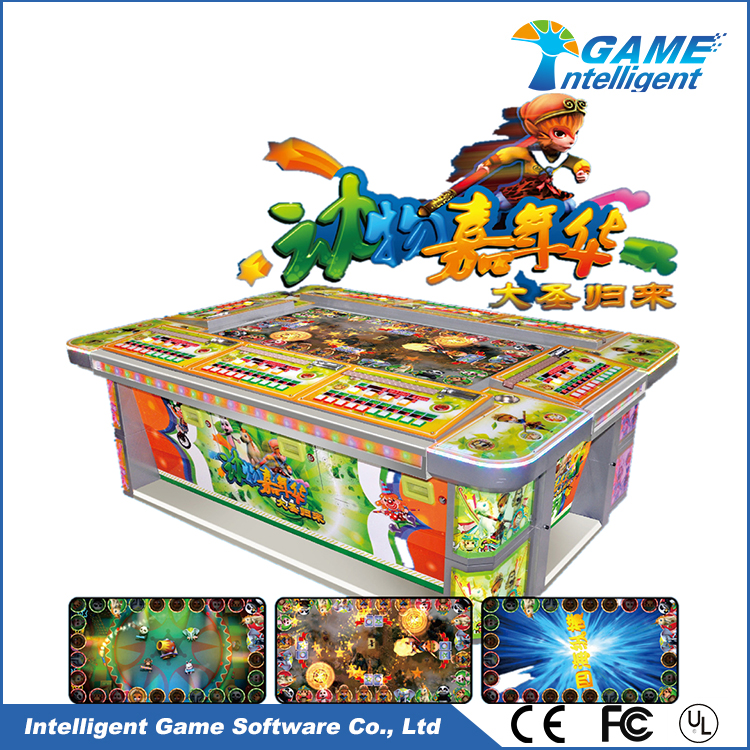 Intelligent Game Fish Game Machine Return Of Monkey King