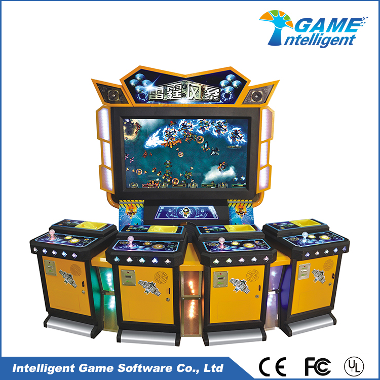 Intelligent Game Fish Table Gambling Thunder Storm