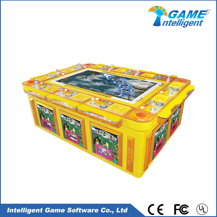 Intelligent Game fish hunter game machine Thunder Storm