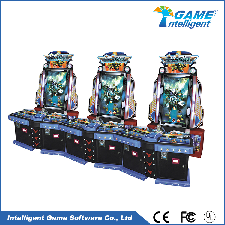 Intelligent Game fish hunter game machine Air Strike 02