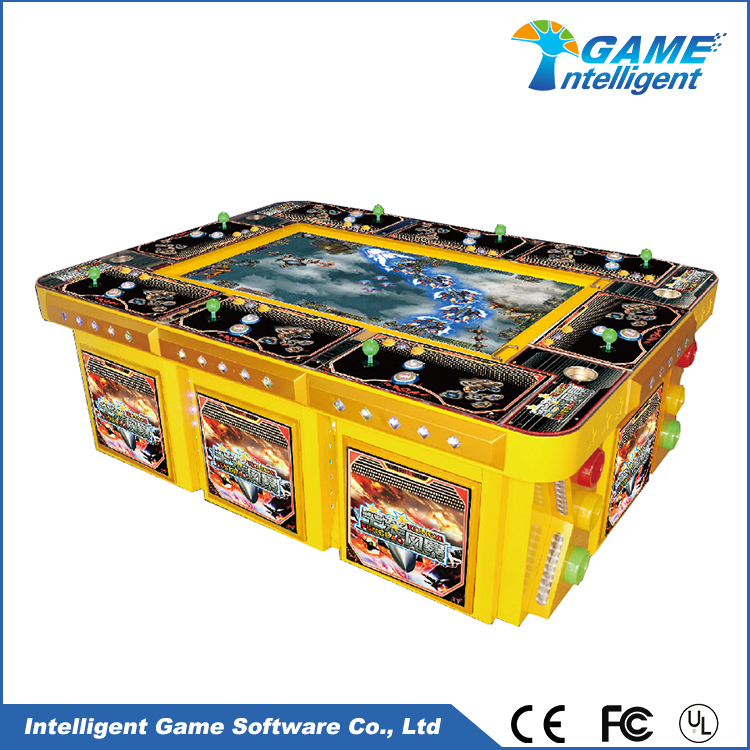 Intelligent Game fish hunter game machine Air Strike 04