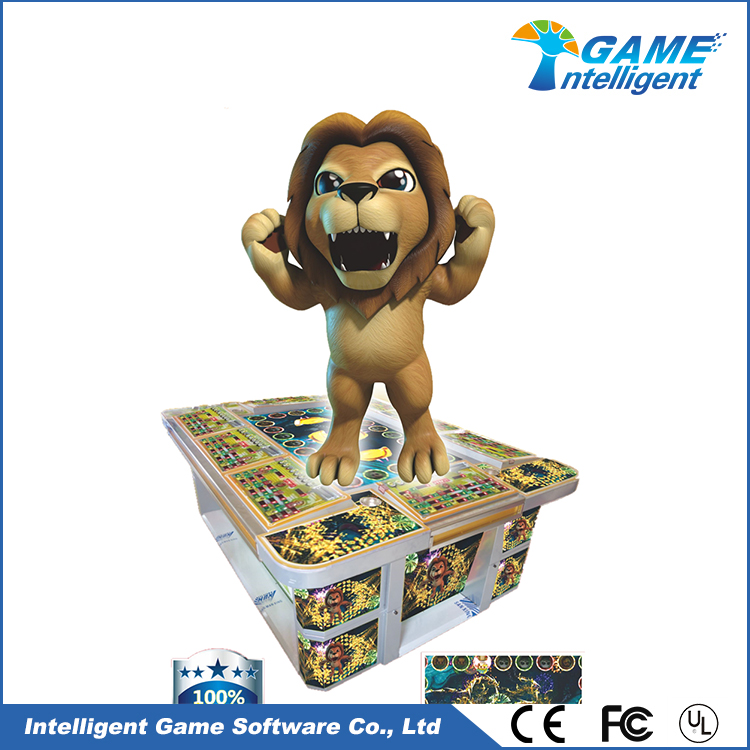 Intelligent Game Arcade Slot Machine King Of The Forest