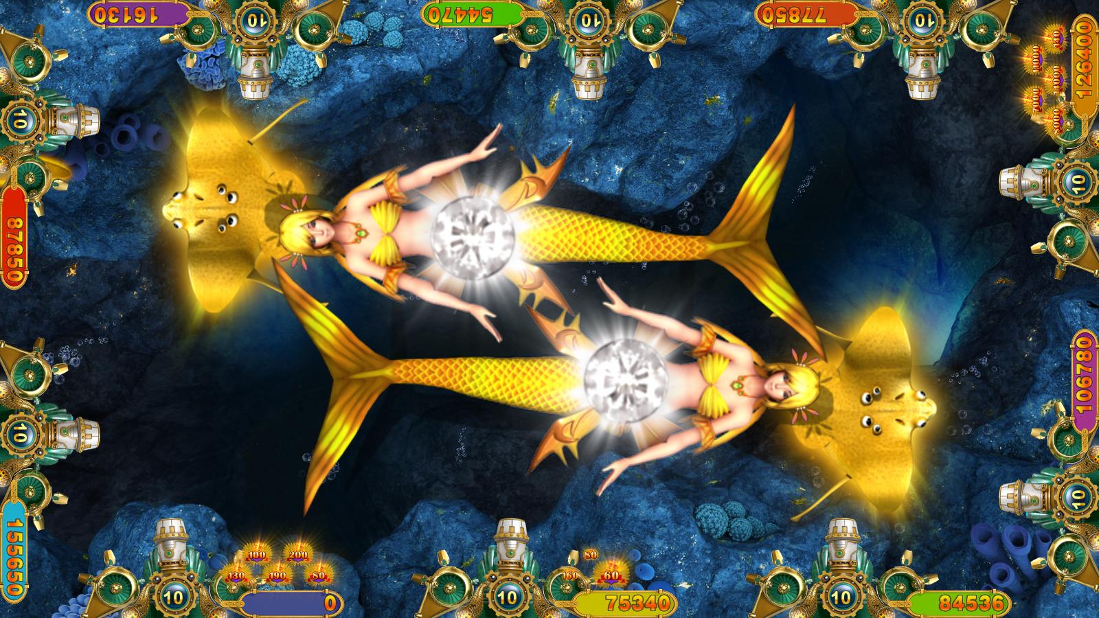Intelligent Game shooting fish gambling game Crystal Mermaid