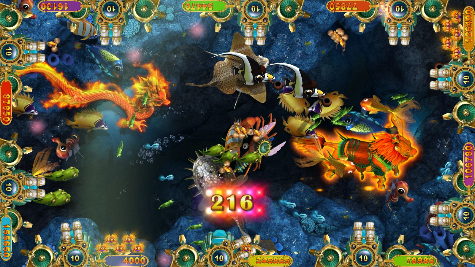 Fish Hunter Arcade Game