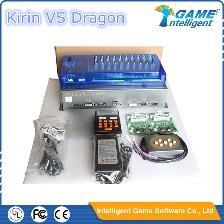 Fish Hunter Arcade Game kits-Kirin VS Dragon