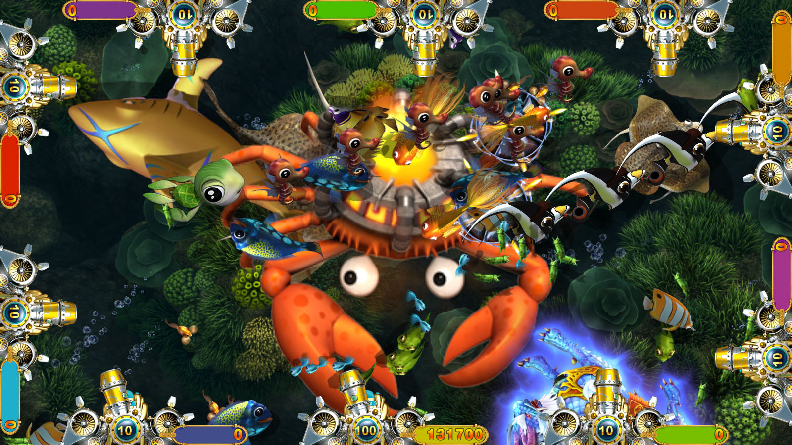 Intelligent Game amusement arcade games Crab King