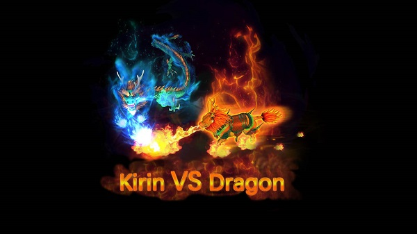 Intelligent Game arcade fish shooting games Kirin VS Dragon
