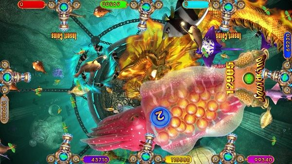 Intelligent Game arcade fish game Magical Ocean