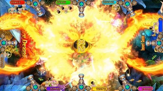 skill fishing table game Fire Dragon