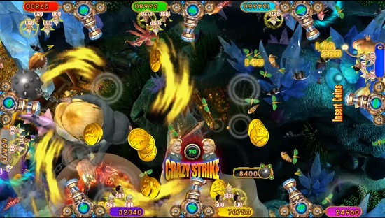 fishing arcade game supplier Hillary Strike