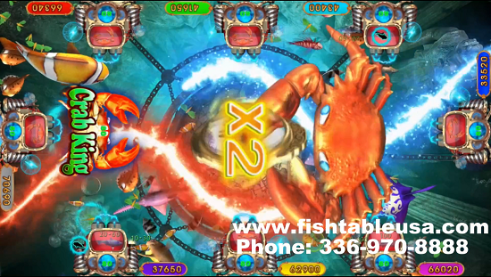 video redemption game Crab King