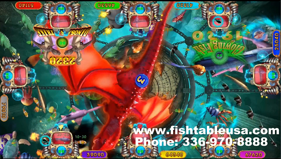 fish shooting game Dinosaur Strike