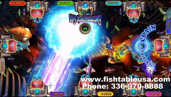 fish table games Laser Gun