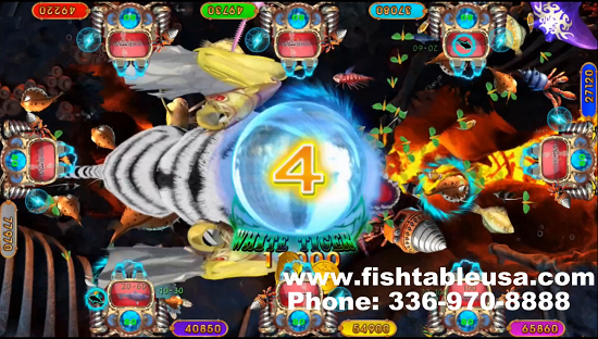 fish game gambling White Tiger