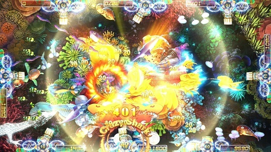 Intelligent Game fish table game Fire Kirin