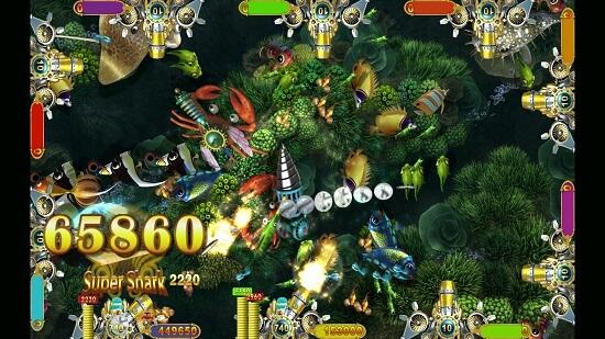 Intelligent Game shooting video game Crab Treasure
